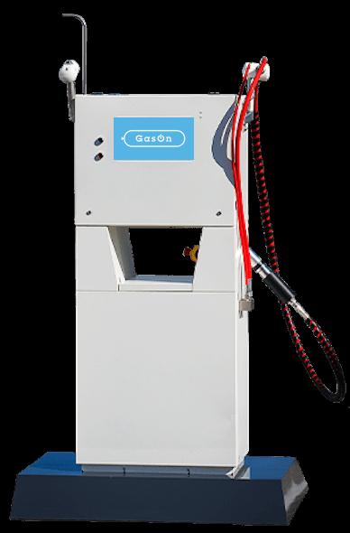 CNG uzpildes dispensers autotransportam