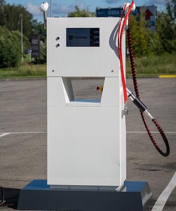 Mobilais dispensers CNG uzpildei